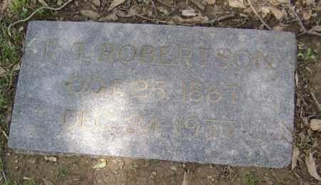 ROBERTSON, R T - Jackson County, Arkansas | R T ROBERTSON - Arkansas Gravestone Photos