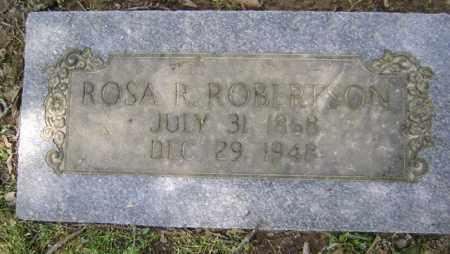ROBERTSON, ROSA R - Jackson County, Arkansas | ROSA R ROBERTSON - Arkansas Gravestone Photos