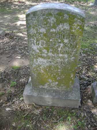 ROBERTSON, SARAH CARLOTTE - Jackson County, Arkansas | SARAH CARLOTTE ROBERTSON - Arkansas Gravestone Photos
