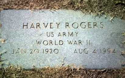 ROGERS (VETERAN WWII), HARVEY - Jackson County, Arkansas | HARVEY ROGERS (VETERAN WWII) - Arkansas Gravestone Photos