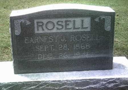 ROSELL, EARNEST J - Jackson County, Arkansas | EARNEST J ROSELL - Arkansas Gravestone Photos