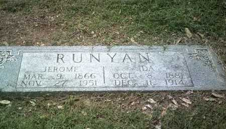 RUNYAN, JEROME - Jackson County, Arkansas | JEROME RUNYAN - Arkansas Gravestone Photos