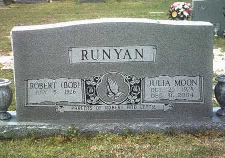 MOON RUNYAN, JULIA - Jackson County, Arkansas | JULIA MOON RUNYAN - Arkansas Gravestone Photos