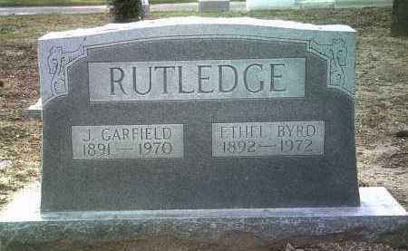 RUTLEDGE, J GARFIELD - Jackson County, Arkansas | J GARFIELD RUTLEDGE - Arkansas Gravestone Photos