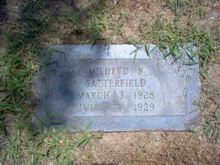 SATTERFIELD, MILDRED B - Jackson County, Arkansas | MILDRED B SATTERFIELD - Arkansas Gravestone Photos