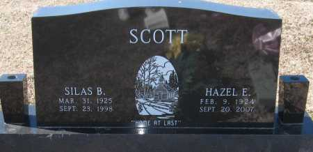 SCOTT, HAZEL E - Jackson County, Arkansas | HAZEL E SCOTT - Arkansas Gravestone Photos