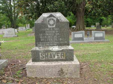 SHAVER, EUGENE A - Jackson County, Arkansas | EUGENE A SHAVER - Arkansas Gravestone Photos