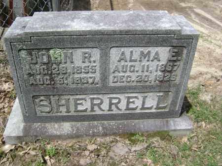 SHERRELL, ALMA E - Jackson County, Arkansas | ALMA E SHERRELL - Arkansas Gravestone Photos