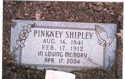 SHIPLEY, PINKNEY - Jackson County, Arkansas | PINKNEY SHIPLEY - Arkansas Gravestone Photos