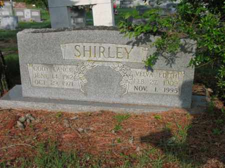 SHIRLEY, VELVA EDITH - Jackson County, Arkansas | VELVA EDITH SHIRLEY - Arkansas Gravestone Photos