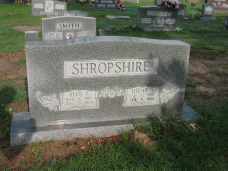 SHROPSHIRE, LILLIAN H - Jackson County, Arkansas | LILLIAN H SHROPSHIRE - Arkansas Gravestone Photos