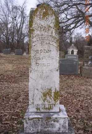 SIMMONS (VETERAN CSA), HOLMAN FELIX - Jackson County, Arkansas | HOLMAN FELIX SIMMONS (VETERAN CSA) - Arkansas Gravestone Photos