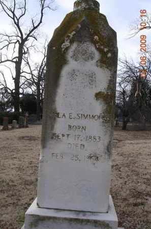 SIMMONS, LULA ELLEN - Jackson County, Arkansas | LULA ELLEN SIMMONS - Arkansas Gravestone Photos