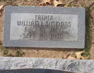 SIMMONS, WILLIAM LAFAYETTE - Jackson County, Arkansas | WILLIAM LAFAYETTE SIMMONS - Arkansas Gravestone Photos