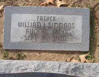 SIMMONS, WILLIAM LAFAYETTE - Jackson County, Arkansas   WILLIAM LAFAYETTE SIMMONS - Arkansas Gravestone Photos