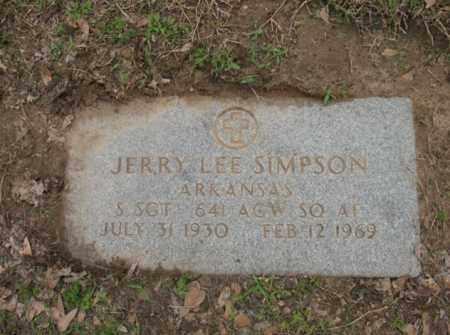 SIMPSON (VETERAN), JERRY LEE - Jackson County, Arkansas | JERRY LEE SIMPSON (VETERAN) - Arkansas Gravestone Photos