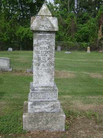 SLAYDEN, AUGUSTUS GARLAND - Jackson County, Arkansas | AUGUSTUS GARLAND SLAYDEN - Arkansas Gravestone Photos
