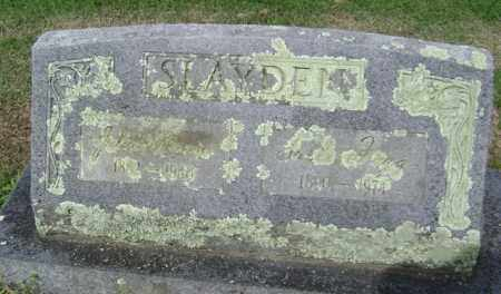 SLAYDEN, SALLIE - Jackson County, Arkansas | SALLIE SLAYDEN - Arkansas Gravestone Photos