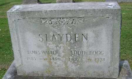 SLAYDEN, JAMES WALTER - Jackson County, Arkansas | JAMES WALTER SLAYDEN - Arkansas Gravestone Photos