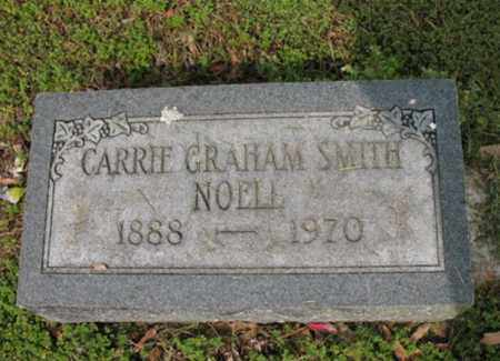 GRAHAM SMITH-NOELL, CARRIE - Jackson County, Arkansas | CARRIE GRAHAM SMITH-NOELL - Arkansas Gravestone Photos