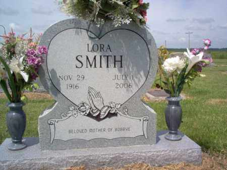 SMITH, LORA - Jackson County, Arkansas | LORA SMITH - Arkansas Gravestone Photos