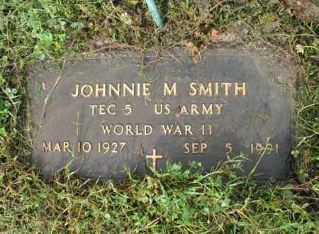 SMITH (VETERAN WWII), JOHNNIE M - Jackson County, Arkansas | JOHNNIE M SMITH (VETERAN WWII) - Arkansas Gravestone Photos