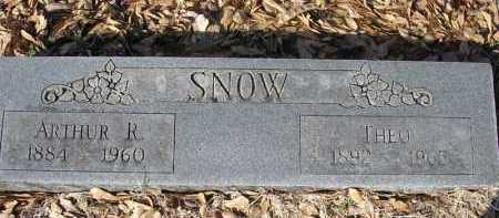 SNOW, MARY THEODORA - Jackson County, Arkansas | MARY THEODORA SNOW - Arkansas Gravestone Photos