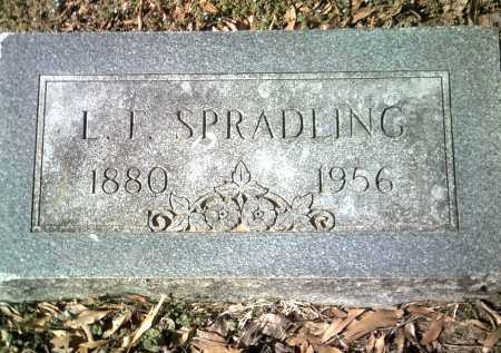 SPRADLING, L F - Jackson County, Arkansas | L F SPRADLING - Arkansas Gravestone Photos