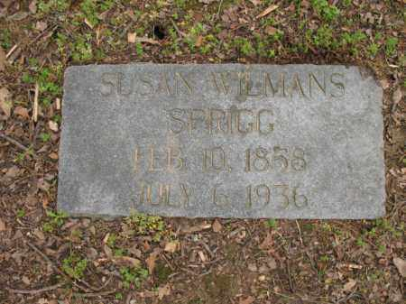 WILMANS SPRIGG, SUSAN - Jackson County, Arkansas | SUSAN WILMANS SPRIGG - Arkansas Gravestone Photos