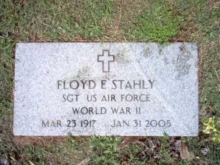 STAHLY (VETERAN WWII), FLOYD E - Jackson County, Arkansas | FLOYD E STAHLY (VETERAN WWII) - Arkansas Gravestone Photos