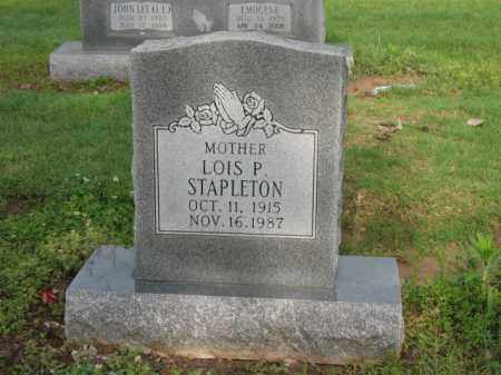 STAPLETON, LOIS P - Jackson County, Arkansas | LOIS P STAPLETON - Arkansas Gravestone Photos