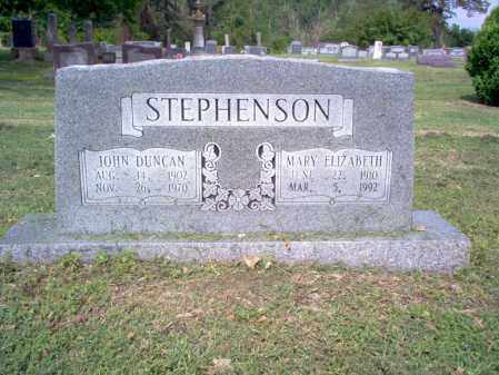 STEPHENSON, MARY ELIZABETH - Jackson County, Arkansas | MARY ELIZABETH STEPHENSON - Arkansas Gravestone Photos
