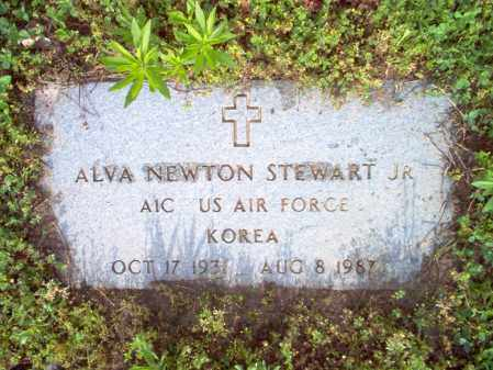 STEWART, JR (VETERAN KOR), ALVA NEWTON - Jackson County, Arkansas | ALVA NEWTON STEWART, JR (VETERAN KOR) - Arkansas Gravestone Photos