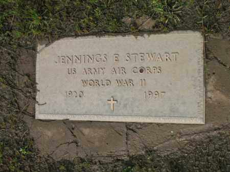 STEWART (VETERAN WWII), JENNINGS E - Jackson County, Arkansas | JENNINGS E STEWART (VETERAN WWII) - Arkansas Gravestone Photos