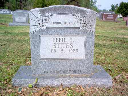 STITES, EFFIE E - Jackson County, Arkansas | EFFIE E STITES - Arkansas Gravestone Photos