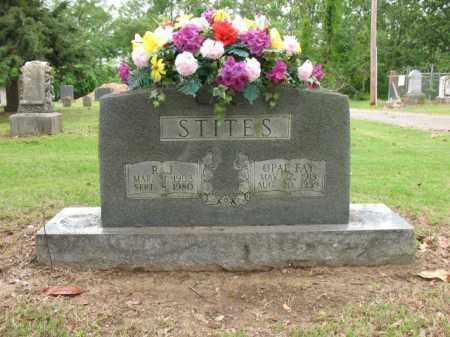 STITES, R J - Jackson County, Arkansas | R J STITES - Arkansas Gravestone Photos