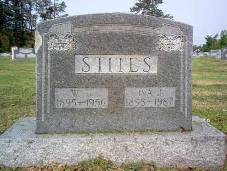 STITES, W L - Jackson County, Arkansas | W L STITES - Arkansas Gravestone Photos