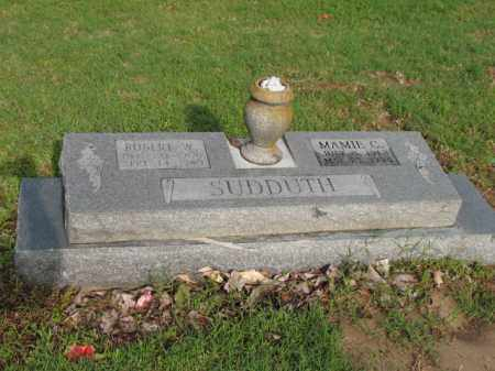 SUDDUTH, ROBERT W - Jackson County, Arkansas | ROBERT W SUDDUTH - Arkansas Gravestone Photos