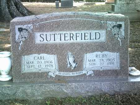 SUTTERFIELD, CARL - Jackson County, Arkansas | CARL SUTTERFIELD - Arkansas Gravestone Photos