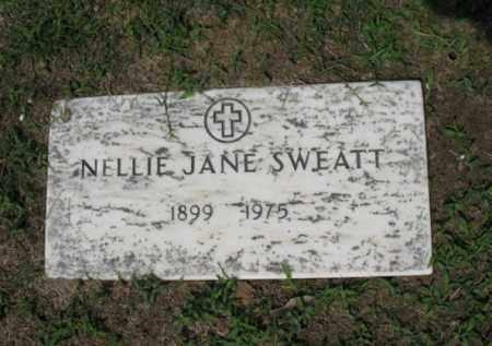 SWEATT, NELLIE JANE - Jackson County, Arkansas | NELLIE JANE SWEATT - Arkansas Gravestone Photos