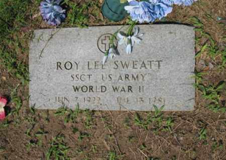 SWEATT, SR (VETERAN WWII), ROY LEE - Jackson County, Arkansas | ROY LEE SWEATT, SR (VETERAN WWII) - Arkansas Gravestone Photos