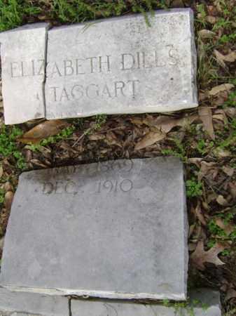 TAGGART, ELIZABETH - Jackson County, Arkansas | ELIZABETH TAGGART - Arkansas Gravestone Photos