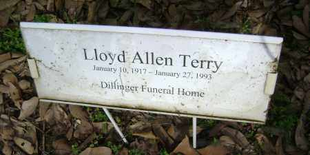 TERRY, LLOYD ALLEN - Jackson County, Arkansas | LLOYD ALLEN TERRY - Arkansas Gravestone Photos