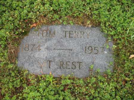 TERRY, TOM - Jackson County, Arkansas | TOM TERRY - Arkansas Gravestone Photos
