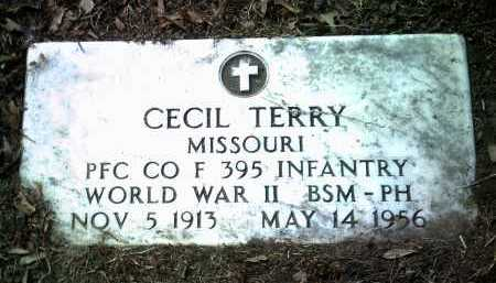 TERRY (VETERAN WWII), CECIL - Jackson County, Arkansas | CECIL TERRY (VETERAN WWII) - Arkansas Gravestone Photos