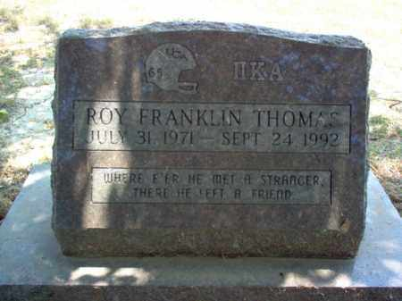 THOMAS, ROY FRANKLIN - Jackson County, Arkansas | ROY FRANKLIN THOMAS - Arkansas Gravestone Photos