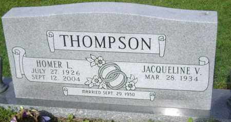 THOMPSON, HOMER L - Jackson County, Arkansas | HOMER L THOMPSON - Arkansas Gravestone Photos