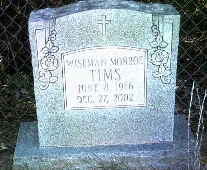 TIMS, WISEMAN MONROE - Jackson County, Arkansas | WISEMAN MONROE TIMS - Arkansas Gravestone Photos