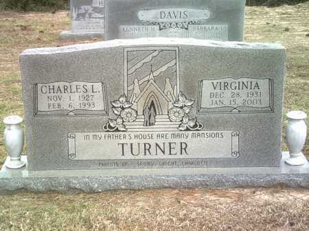 TURNER, CHARLES L - Jackson County, Arkansas | CHARLES L TURNER - Arkansas Gravestone Photos