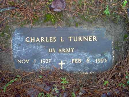 TURNER (VETERAN), CHARLES L - Jackson County, Arkansas | CHARLES L TURNER (VETERAN) - Arkansas Gravestone Photos